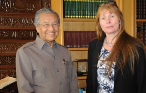 Dr Mahathir and C Brown