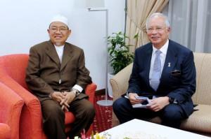 Harussani and Najib