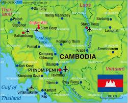 Map of Cambodia