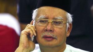 Najib and the Phone