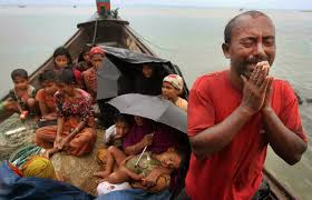 Refugees from Myanmar