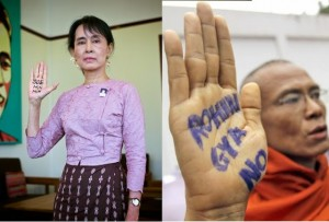 Aung San's Hands Up for Genocide