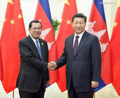 Hun Ssn with Chinese President Xi