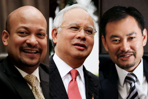 Najib and !MDB Executives
