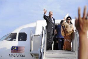 Najib and Rosmah to Saudi Arabia