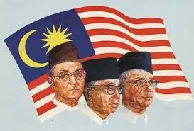 Tunku Razak and Hussein