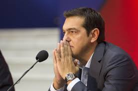 Greek PM  Alexis Tsipras.