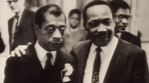 James Balwin and Msrtin Luther King