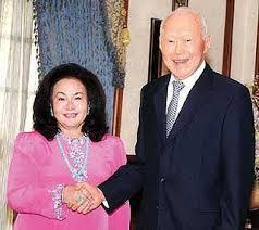 LKY and Rosmah Mansor