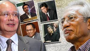 Najib and his Spinners and AKJ