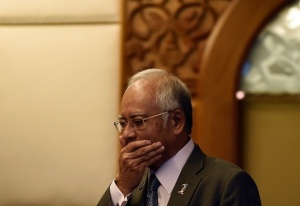 Najib in anxiety