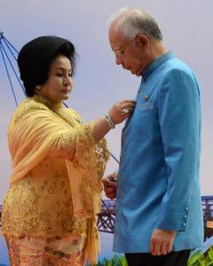 Rosmah and Najib now