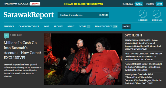 Rosmah Exposed by Sarawak Report