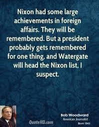 Woodward on Nixon