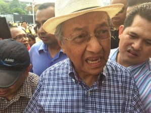Dr M at Berish 4.0