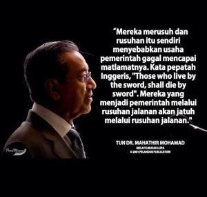 Dr Mahathir again
