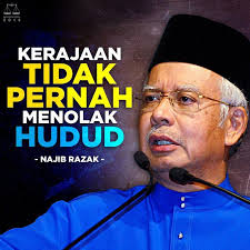 Najib on Hudud