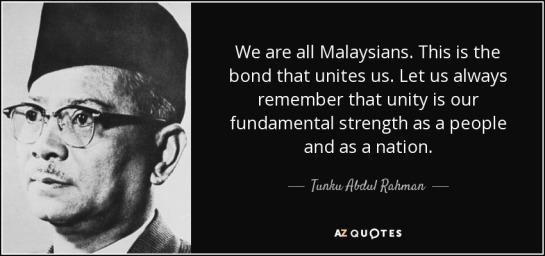 Tunku Quote