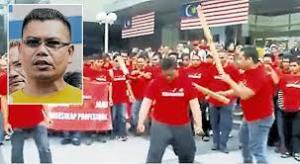 UMNO Red Shirt Goons
