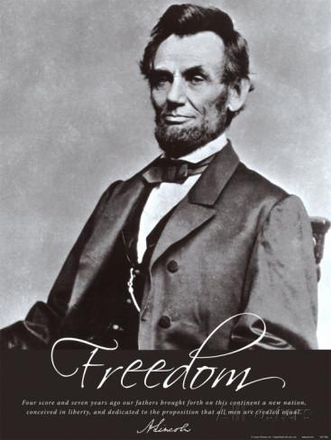 freedom-abraham-lincoln