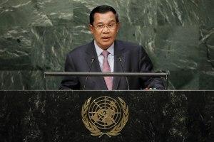 Hun Sen at UNGA