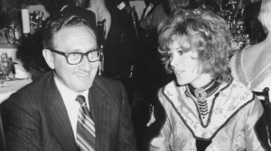 Henry A. Kissinger, President Nixon?s chief foreign policy advisor, and Jill St. John, Hollywood actress whom he frequently dates, are dinner companions at the Now Grove in the Ambassador hotel in Los Angeles, Tuesday, Oct. 21, 1970. Kissinger, a bachelor, has escorted Miss St. John to a variety of functions in Washington as well as in the Hollywood and Los Angeles area. (AP Photo)