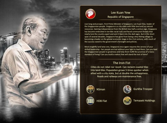 Lee Kuan Yew-Leader