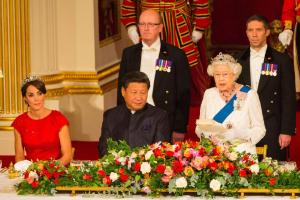 The Queen  Honoring Xi