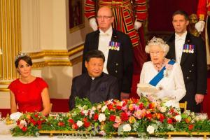 The Queen  Honoring Xi