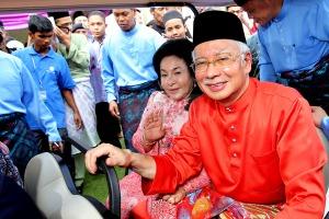 The Raciat Najib and Terrible Bomoh infested Rosmah Mansor