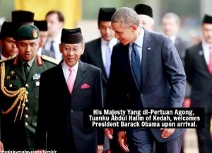 Agong and Obama