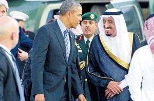Obama and Saudi King