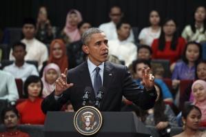 Obama at Taylors University