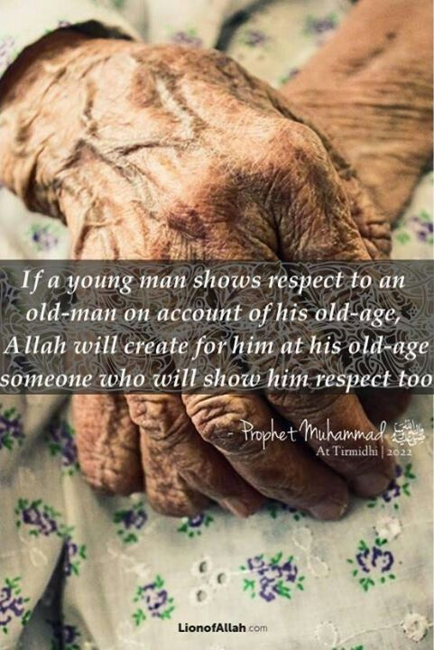 Respect for the Old