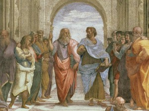 Socrates, Plato and Aristotle