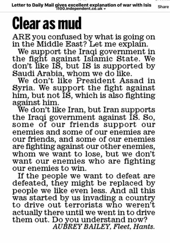 US Middle East Policy