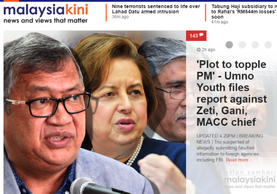 Image result for zeti, gani and abu kassim. (Free Malaysia Today ...