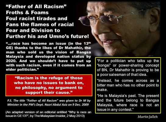 Image result for Najib the racist
