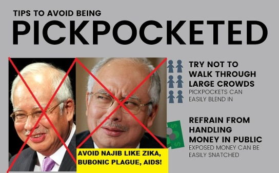 Image result for Najib the crook