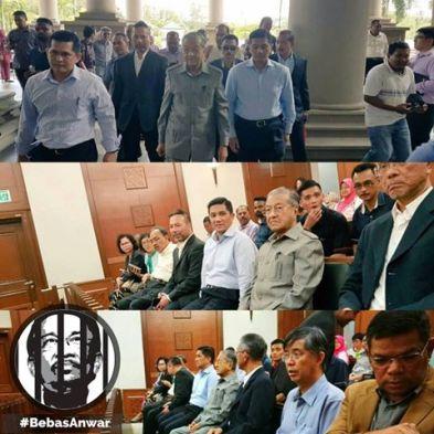 Image result for Anwar-Mahathir Handshake