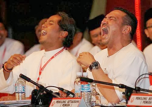 Image result for The laughing Khairy and Hishamuddin