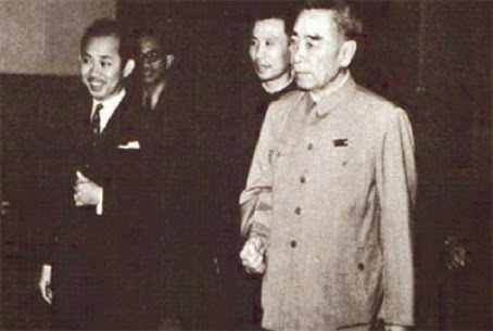 Image result for Ku Li with Zhou Enlai