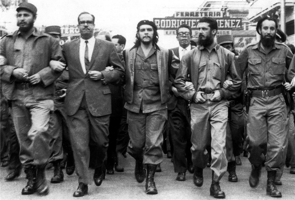 Image result for fidel castro and che guevara