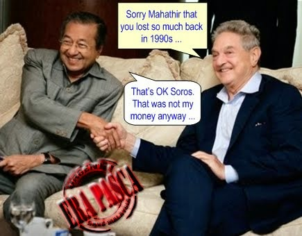Image result for George Soros and Mahathir
