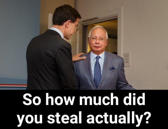 Image result for UMNO's Grand Poobah Najib Razak