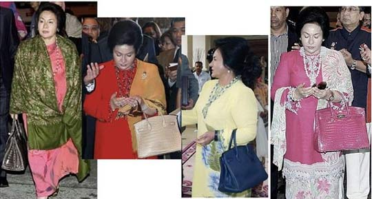 Image result for Rosmah's Birkin Bag