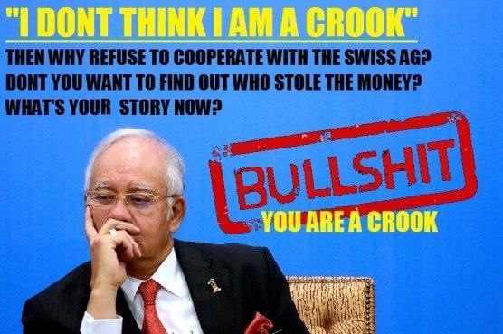 Image result for Bullshit Najib