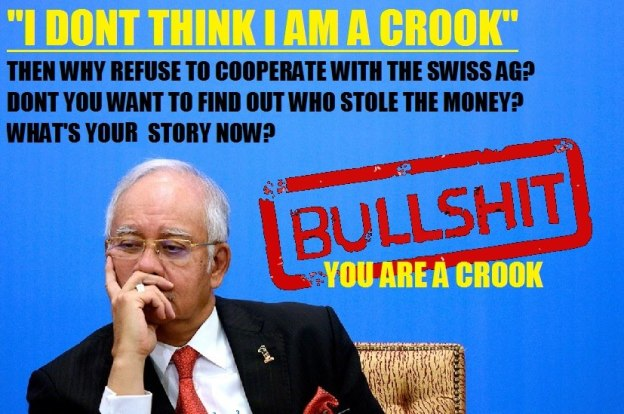 Image result for najib razak the crook
