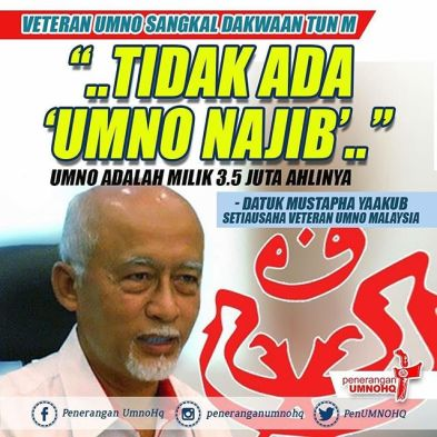 Image result for UMNO Youth's Mustapha Ya'akub