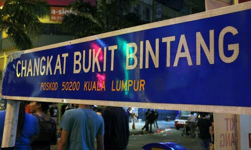 Image result for nightlife in Jalan Bukit Bintang, kuala lumpur malaysia